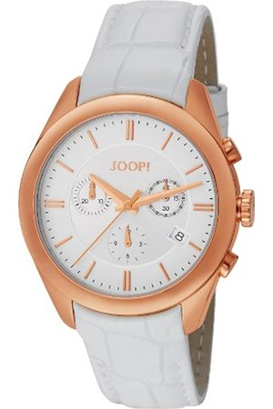Women Watches - JOOP! Joop Aspire Chrono Women's Quartz Watch with Dial Chronograph Display and Leather Strap JP101042F03