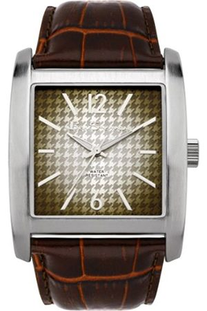 Men Watches - Ben Sherman Men's Quartz Watch with Dial Analogue Display and Leather Strap R822.03BS