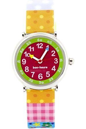 Girls Watches - Children's Watch Analogue Quartz Multi-Coloured Cream Butterfly