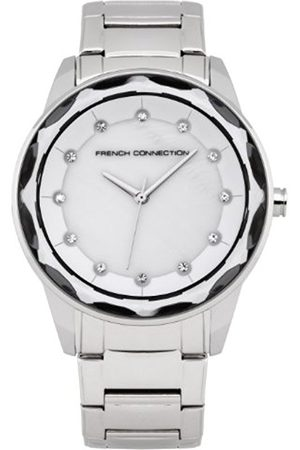 French Connection Women s Quartz Watch with Mother of Pearl Dial Analogue  Display and Stainless Steel Bracelet 1365c95bd12