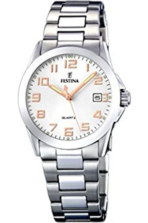 Women Watches - Festina Women's Quartz Watch Klassik F16377/3 with Metal Strap