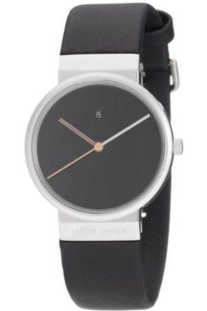 Women Watches - Jacob Jensen Damen-Armbanduhr Analog Quarz Leder DIMENSION SERIES ITEM NO.: 852