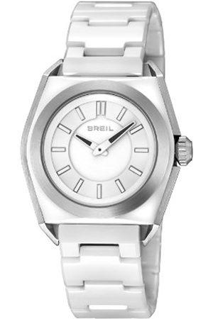 Watches - Breil Unisex Quartz Watch with Dial Analogue Display and Ceramic Bracelet TW0810