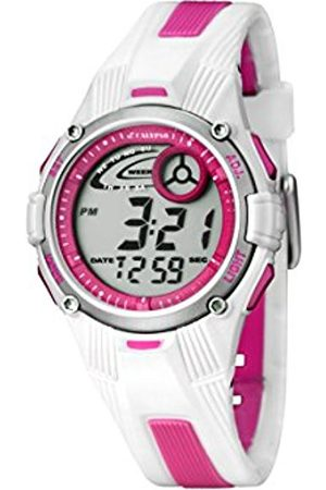 Women Watches - Calypso Women's Digital Watch with LCD Dial Digital Display and Plastic Strap K5558/2