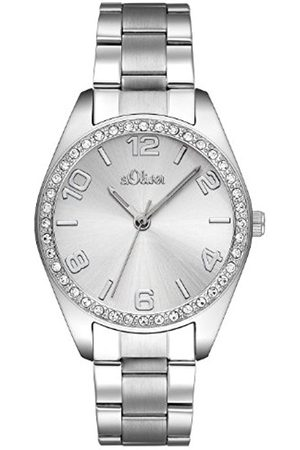 Women Watches - s.Oliver Women's Quartz Watch SO-2276-MQ with Metal Strap