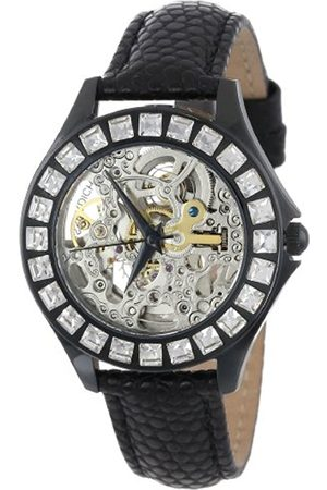 Burgmeister Merida Women's Automatic Watch with Dial Analogue Display and Leather Strap BM520-602