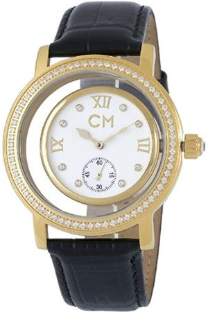 Women Watches - Ladies Automatic Watch with Dial Analogue Display and Leather Strap CM104-282
