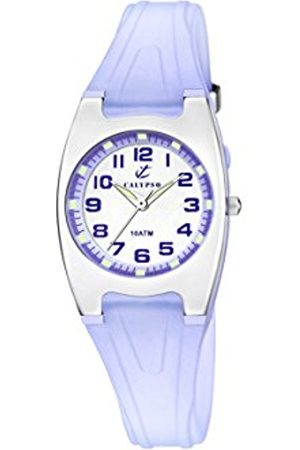 Women Watches - Calypso Women's Quartz Watch with Dial Analogue Display and Plastic Strap K6042/E