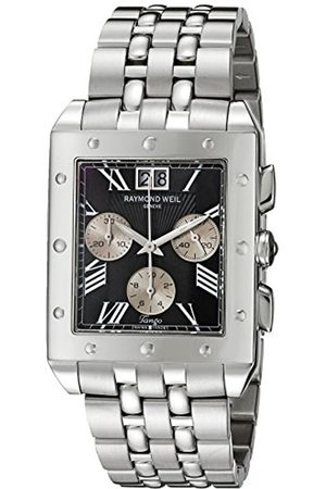 Men Watches - Men's Quartz Watch with Dial Chronograph Display and Stainless Steel Bracelet 4881-ST-00209