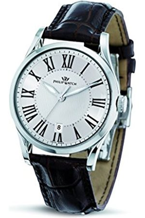 Men Watches - Philip Sunray Men's Quartz Watch with Dial Analogue Display and Leather Strap R8251180003
