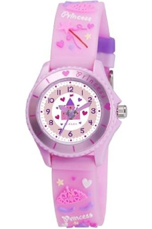 Girls Watches - Children's Girls 3D Princess Silicone Strap Watch TK0036