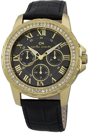 Women Watches - Catania Women's Quartz Watch with Dial Analogue Display and Leather Strap CM600-222
