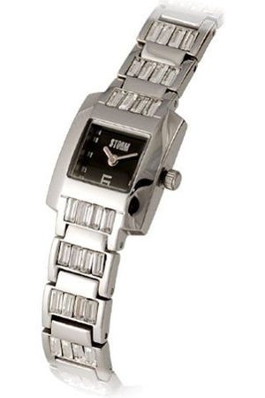 Women Watches - Storm Glamapuss 4331/BK Stainless Steel Ladies Analogue Watch