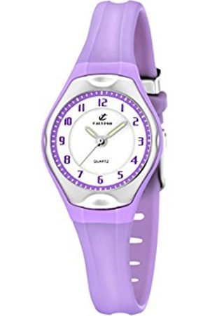 Women Watches - Calypso Women's Quartz Watch with Dial Analogue Display and Plastic Strap K5163/N