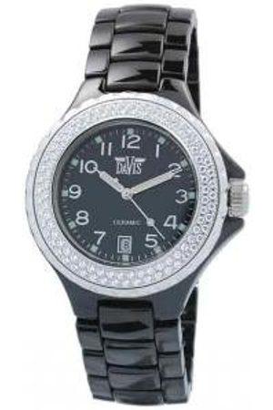 Men Watches - Elegance Ceramic Quartz Watch, Waterproof, with Chronograph, White Ceramic Bracelet and Case