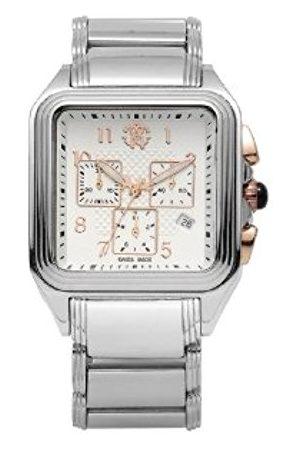 Men Watches - Roberto Cavalli Men's Venom Chronograph Watch R7253692145 with Quartz Movement