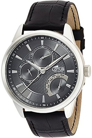 Men Watches - Lotus Men's Quartz Watch with Dial Analogue Display and Leather Strap 15974/4