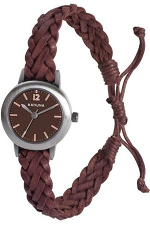 Women Watches - Women's Quartz Watch with Dial Analogue Display and Leather Strap KLF-0021L