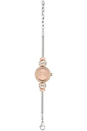 Women Watches - Morellato Drops Women's Quartz Watch with Rose Dial Analogue Display and Stainless Steel Strap R0153122505
