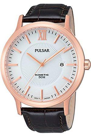 Men Watches - Pulsar Men's Watch Analogue Quartz Leather PAR184X1