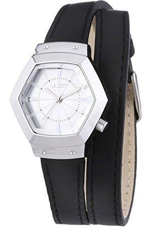 Women Watches - Women's Quartz Watch 48-S2243-BK with Leather Strap