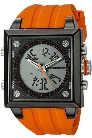 Men Watches - Men's Quartz Watch with Dial Analogue - Digital Display and Silicone Strap CP900-690C
