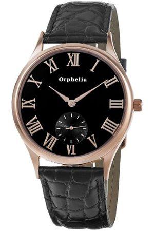 ORPHELIA Men's Watch Analogue Leather Quartz
