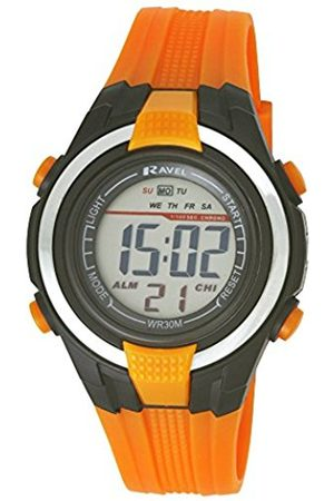 Boys Watches - Ravel LCD Digital Water Resistant Sports Boy's Digital Watch with Dial Digital Display and Plastic Strap RDB-18