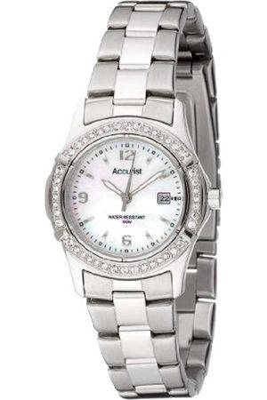 Women Watches - Women's Quartz Watch with Dial Analogue Display and Silver Stainless Steel Bracelet Lb1540P