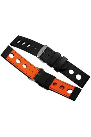 Men Watches - B0320 - 22mm High Quality Racing Rallye Perforated Watch Strap