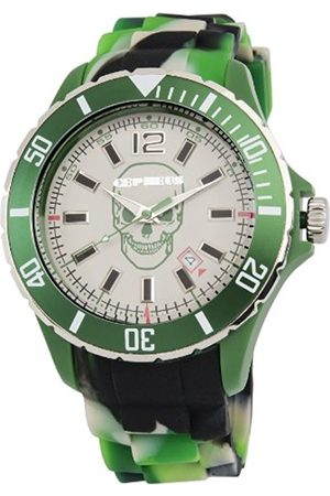CEPHEUS Unisex Quartz Watch with Dial Analogue Display and Silicone Strap CPX01-090