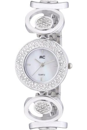 Women Watches - Women's Analogue Watch with Mother of pearl Dial Analogue Display and Metal gun metal - 50873