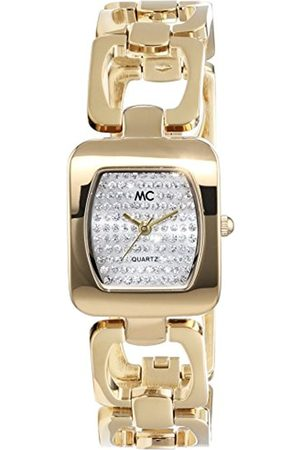 Women Watches - Women's Analogue Watch with golden Dial Analogue Display - 51356
