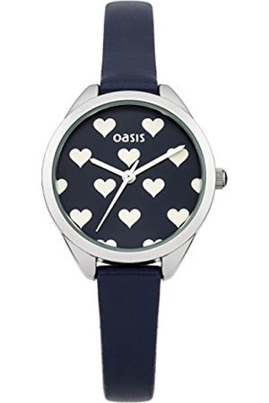 Women Watches - Oasis Women's Quartz Watch with Dial Analogue Display and Leather Strap B1448