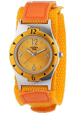 Girls Watches - Girl's Quartz Wristwatch with Dial Analog Display and Fabric Strap 454-1806-66