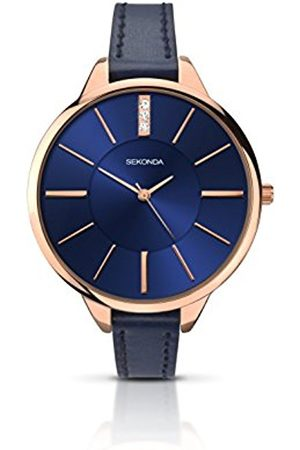 Women Watches - Sekonda Women's Quartz Watch with Dial Analogue Display and PU Strap 2144.27