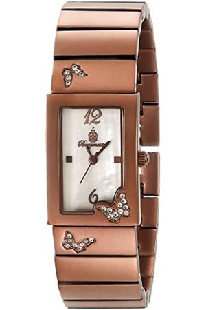 Women Watches - Perpignon Women's Quartz Watch with Mother of Pearl Dial Analogue Display and Bracelet BM527-485