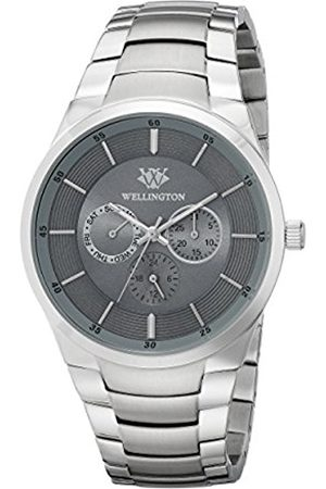 Men Watches - Men's Quartz Watch with Dial Analogue Display and Stainless Steel Bracelet WN601-191