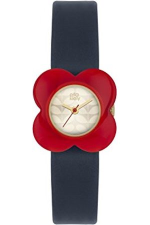 Orla Kiely Women's Analogue Quartz Watch with Leather Strap – OK2062