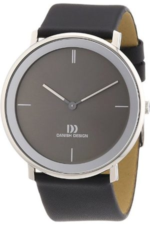 Danish Designs Danish Design Men's Quartz Watch with Dial Analogue Display and Gold Leather 3314441 XL