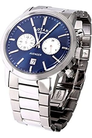 Men Watches - Men's Quartz Watch with Dial Chronograph Display and Stainless Steel Bracelet GB02730/05