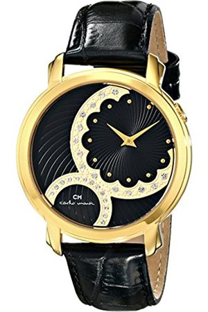 Women Watches - Women's Quartz Watch with Dial Analogue Display and Leather Bracelet CM802-222