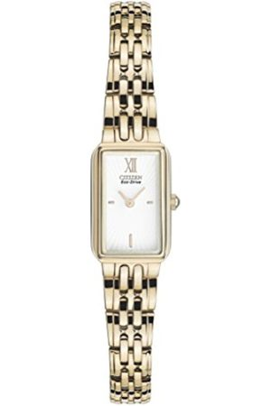 Women Watches - Citizen Watch women's Eco Drive Watch with Dial analogue Display and Stainless steel plated Bracelet EG2823-58A