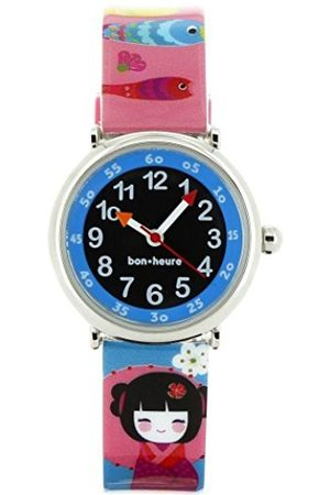 Girls Watches - Baby Girls Doll Set Watch-Watch-Watch a pedagogical 4-7 Years- Dial Bracelet with Beads Plastic Multicoloured