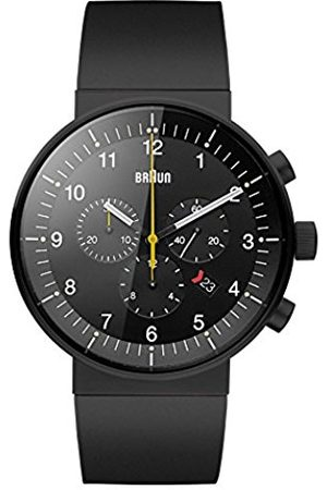 Men Watches - Men's Quartz Watch with Dial Analogue Display and Rubber Strap