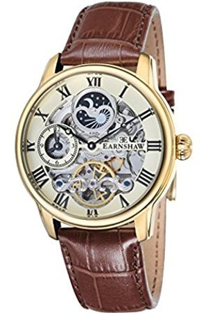 THOMAS EARNSHAW Men's Longitude Automatic Watch with Dial Analogue Display and Leather Strap ES-8006-06
