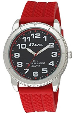 Ravel Men's 5ATM Quartz Watch with Dial Analogue Display and Silicone Strap R5-20.10G
