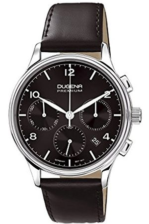 Men Watches - Men's Premium Quartz Watch with Dial Chronograph Display and Leather Strap