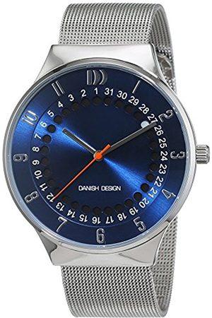 Men Watches - Danish Design Men's Quartz Watch with Black Dial Analogue Display Quartz Stainless Steel 3314497