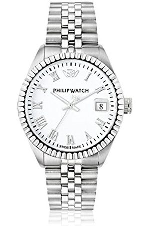Men Watches - Philip Caribe Men's Quartz Watch with Dial Analogue Display and Stainless Steel Strap R8253597022